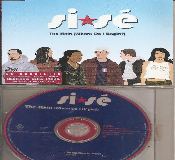 Si se - the rain (cdsingle caja promo, virgin records 2002)