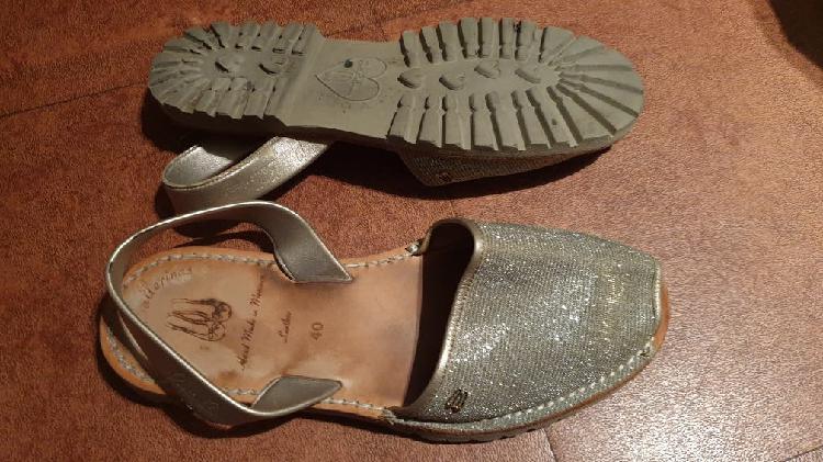 Sandalias abarcas menorquinas