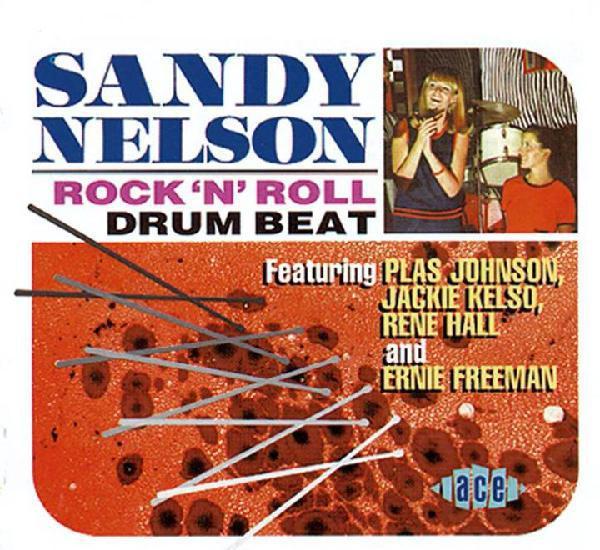 Sandy nelson – rock 'n' roll drum beat (uk import)