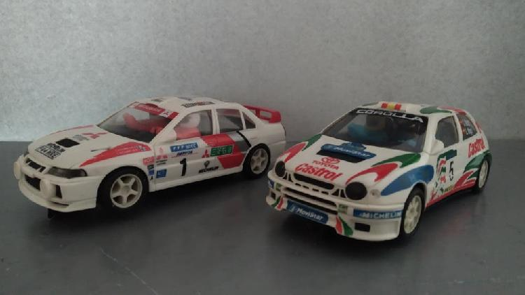 Scalextric - lote rally