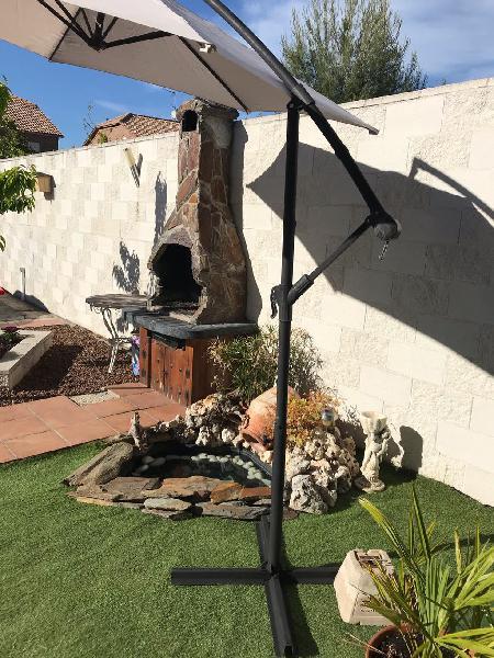 Sombrilla de jardin