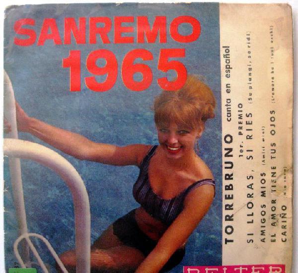 Torrebruno - sanremo 1965 (si lloras, si ries + 3) - ep