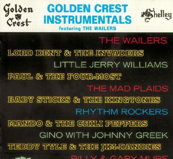 Va – golden crest instrumentals featuring the wailers