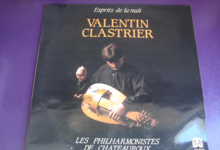 Valentin clastrier philharmonistes châteauroux lp auvidis