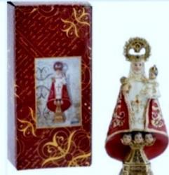Virgen de covadonga de 22 cm.