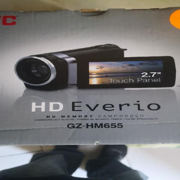 Camara de video jvc hd everio