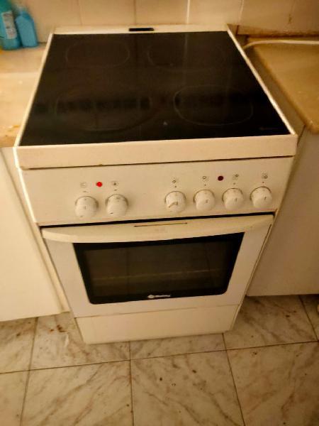 Cocina eléctrica independiente.