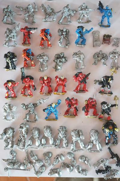 Warhammer 1986 : ejército marines espaciales