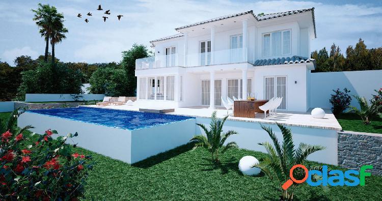 Proyecto - maravillosa villa de estilo moderno con espectaculares vistas al mar