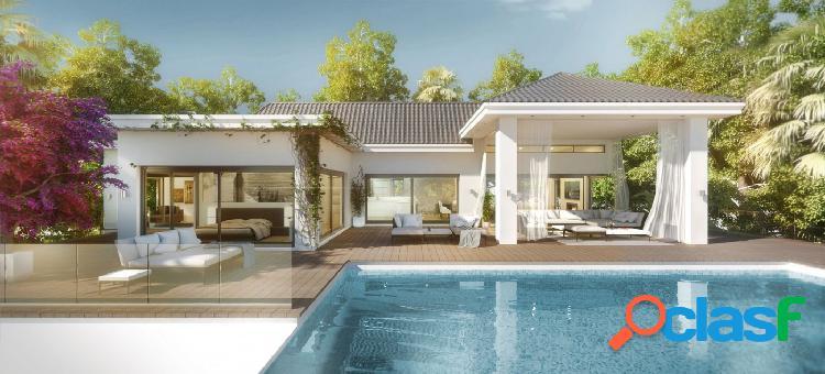 Proyecto - maravillosa villa de estilo moderno con vistas al mar