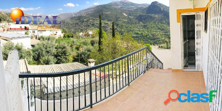 A6807J1. PRECIOSA CASA ADOSADA EN GÜEJAR SIERRA - SIERRA NEVADA. www.idealhouse.es 2