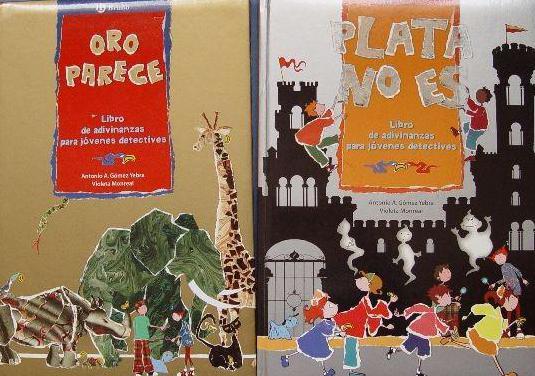 2 libros: oro parece y plata no es (bruño, 2003)