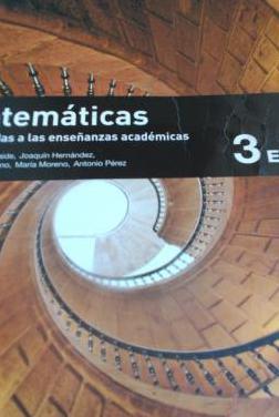 3º eso matemáticas editorial sm