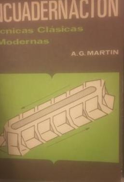 A.g. martín: la encuadernación