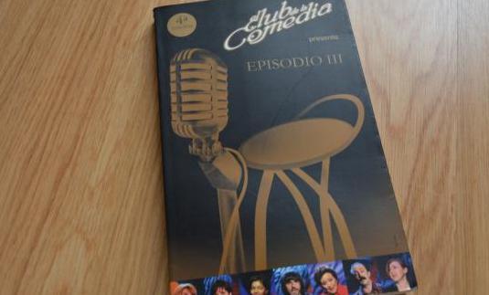 El club de la comedia (libro)- episodio iii