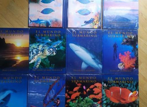 Enciclopedia del mundo submarino