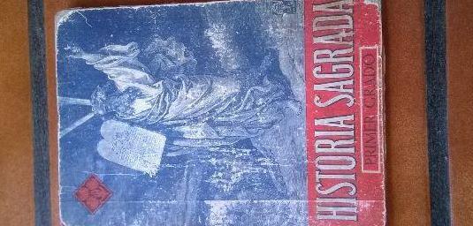 Historia sagrada primer grado 1947