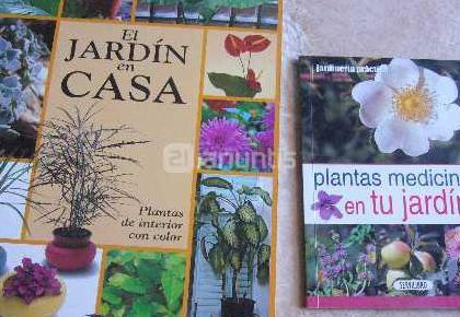 Libros de plantas y jardin
