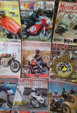 Lote revistas motos clasicas