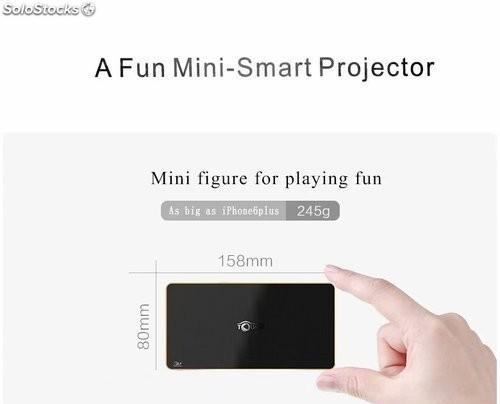 Multimedia proyector de video inteligente android 4.44 mini