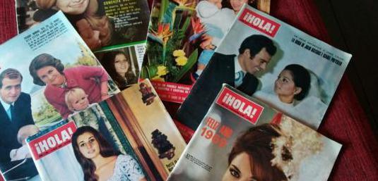 Revistas corazón años 60 y 70