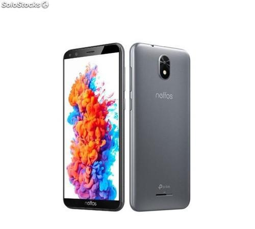 """Smartphone tp-link neffos c5 plus 5"""" 1/ 8gb gris f2mpx t5mpx"""