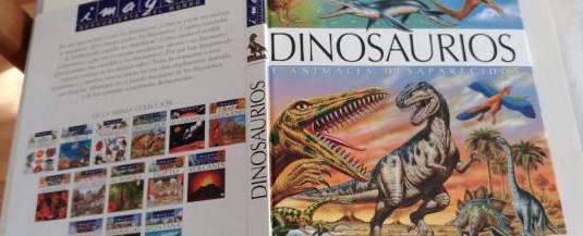Dinosaurios y animales desaparecidos (imagen fleu