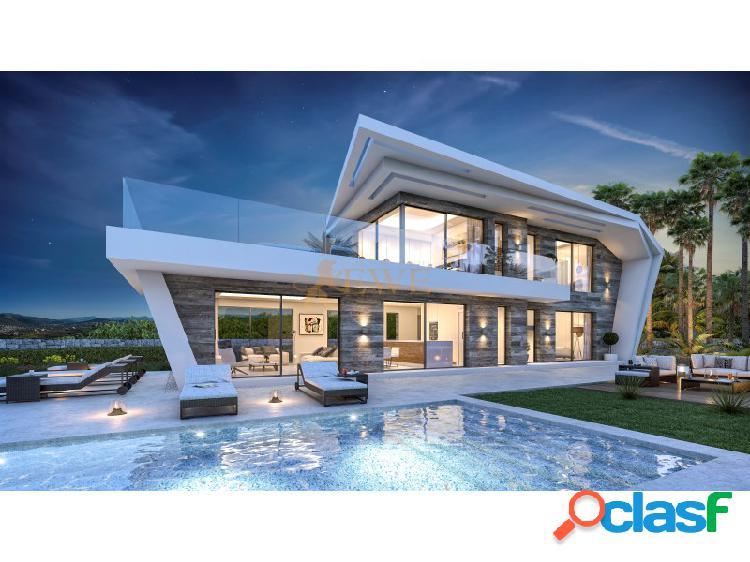 Ewe - impresionante villa con vistas panoramicas situada en javea
