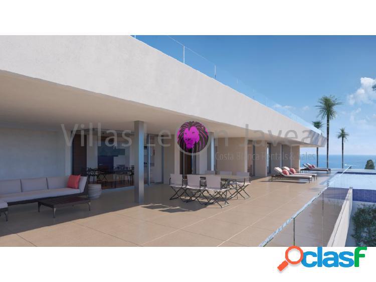Impresionante villa de lujo moderno con espectaculares vistas al mar en venta en cumbre del sol - benitachell