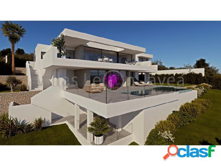 Lujosa villa en venta con impresionantes vistas al mar en cumbre del sol - benitachell