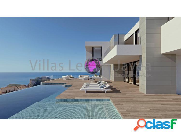 Lujosa villa en venta con magnificas vistas al mar en cumbre del sol - benitachell