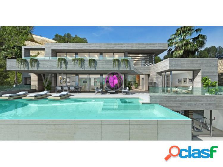 Villa de lujo con inigualables vista al mar en venta en Cumbre Del Sol - Benitachell