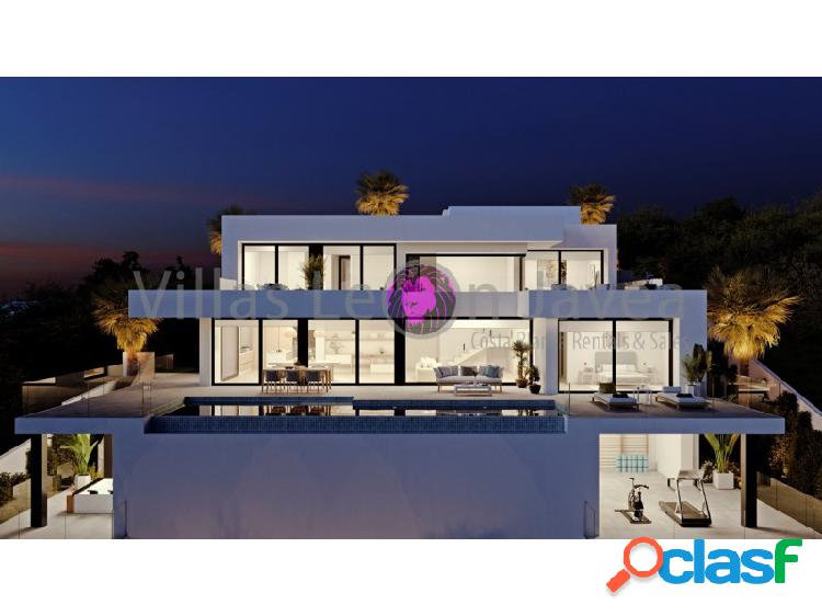 Villa de lujo en venta con impresionantes vistas al mar en cumbre del sol - benitachell
