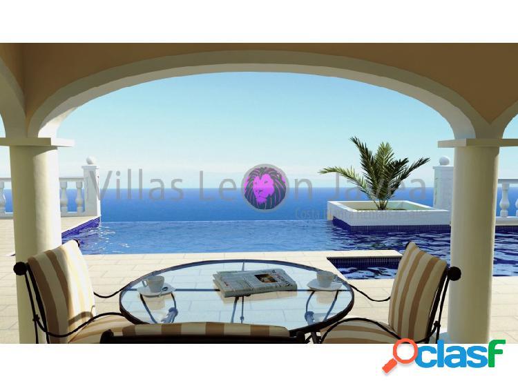 Villa lujosa y elegante con impresionantes vistas al mar en venta en cumbre del sol - benitachell