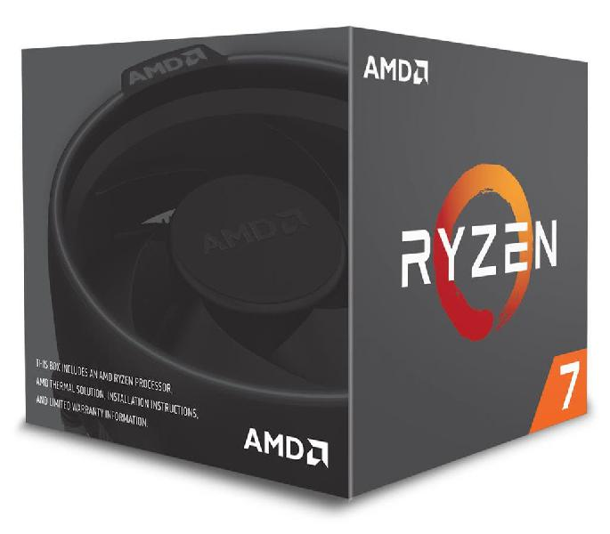 Amd ryzen 7 2700 turbo 4,1 ghz procesador cpu
