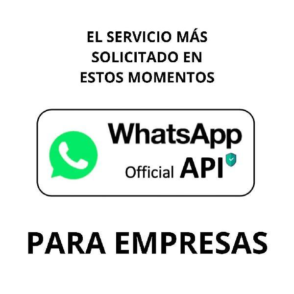 Api de whatsapp para empresas