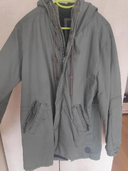 Abrigo talla l/ -40 spriengfield color verde