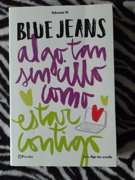 Algo tan sencillo como estar contigo de blue jeans