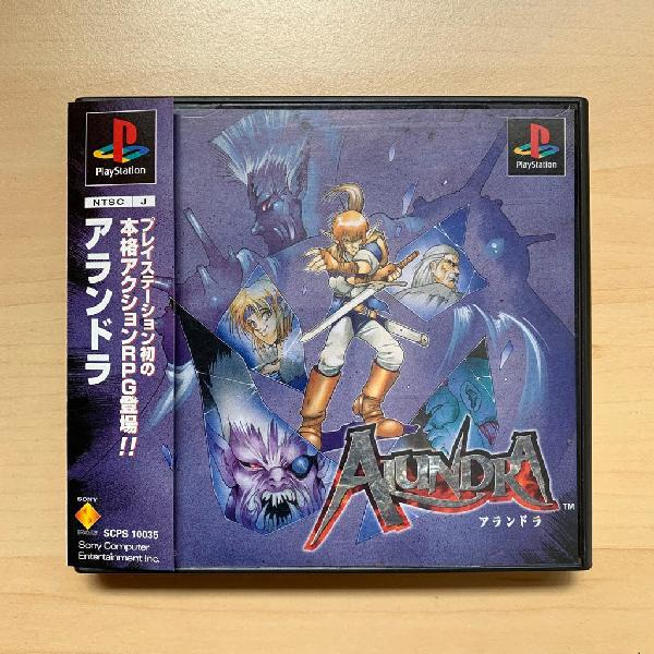 Alundra psx play station ps1