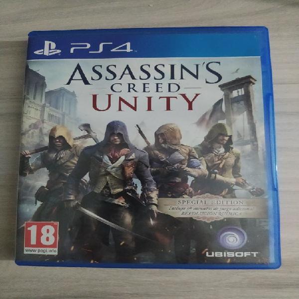 Assasins creed unity playstation 4