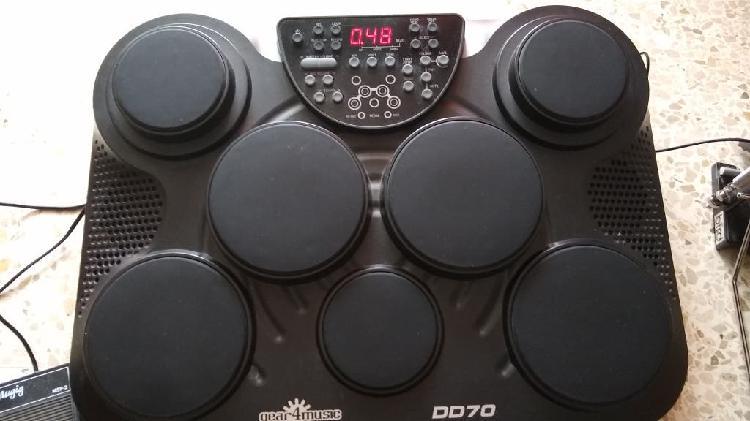 Bateria electrónica gear4music dd70