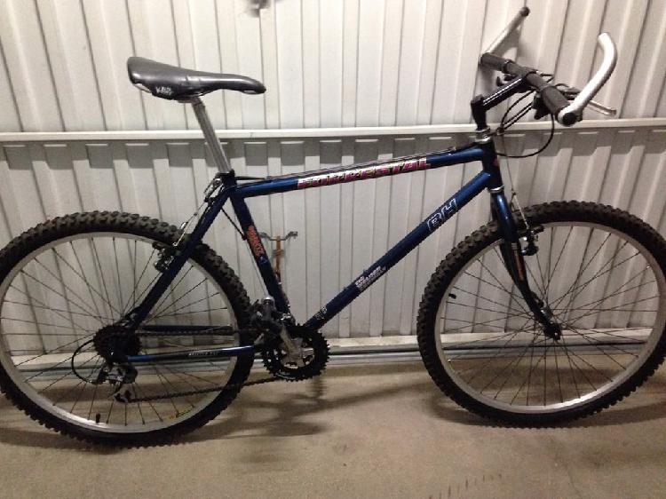Bicicleta mtb bh cromo nueva
