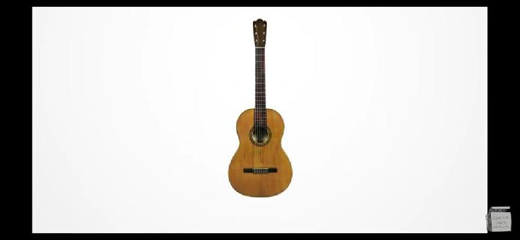 Clases de guitarra clásica/española