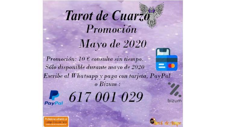 Consulta al tarot por 10 euros sin tiempo