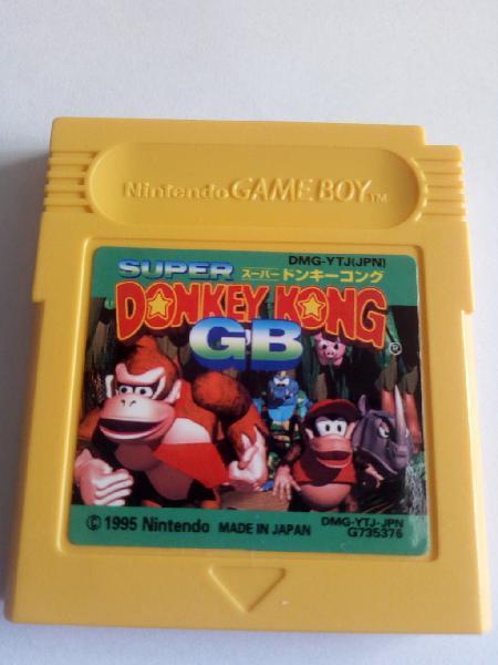 Donkey kong land 1 para nintendo game boy gameboy
