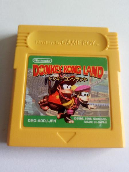 Donkey kong land 2 para nintendo game boy gameboy