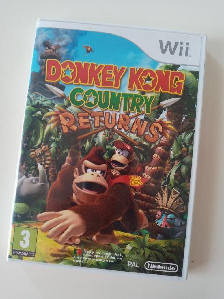 Donkey kong country returns wii y wii u