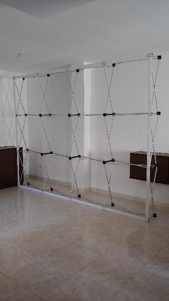 Estructura photocall 3x2,25m. con focos
