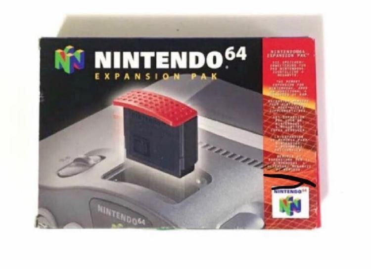 Expansion pak completo de nintendo 64 en caja