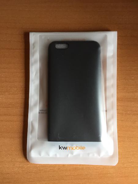 Funda iphone 6 plus/ iphone 6s plus - negro mate